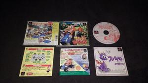 Crash Team Racing Japones - Juego Original Completo