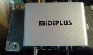 Placa De Audio Externa Midiplus Audiolink