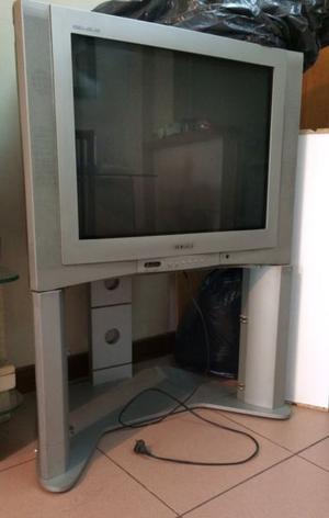 TV 29 pantalla plana ken brown con mesita
