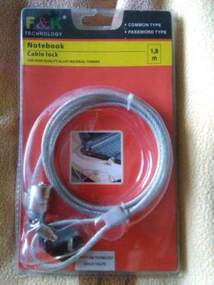 Cable de seguridad para notebook