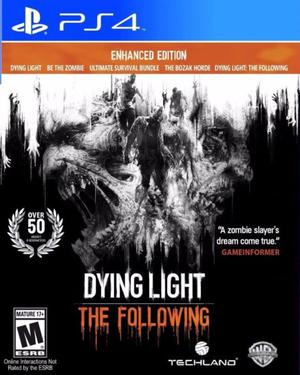 Dying Light The Following NUEVO Para Ps4 Juego Fisico