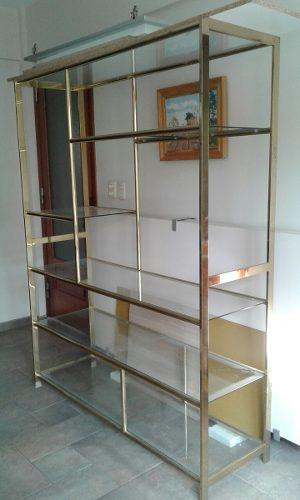 Alacena estanteria de cocina con barral 5 posot class - Estanterias con cristal ...