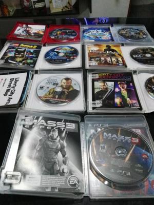 Lote de juegos para PlayStation 3