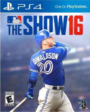 MLB 16 The Show NUEVO Para Ps4 Juego Fisico Original!!!