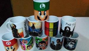 Tazas de cerámica sublimada, personalizadas tenes motivos