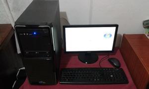 Vendo PC con monitor de 15 pulgadas, acepto canje por otros