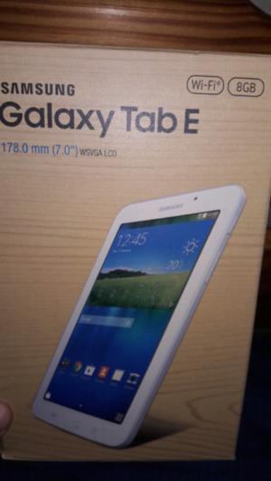 "Vendo tablet samsung galaxy TAB E. 7"""