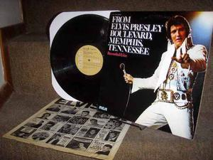 Elvis Presley Lp From Elvis Presley Boulevard Original !