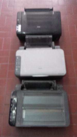 Lote de impresoras