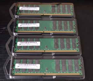 Memorias Nuevas DDR2 4GB 800Mhz