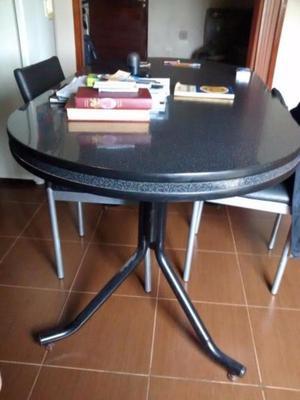 Mesa grande y 8 sillas para quincho posot class for Sillas para quincho