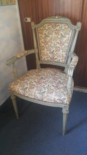 Vendo sillón estilo Luis XV