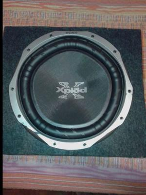 Woofers Sony Xplod + Parlantes Pioner + Parlantres B-Bomber
