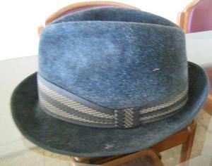 antiguo sombrero de fieltro de los 50- pompeya/v crespo