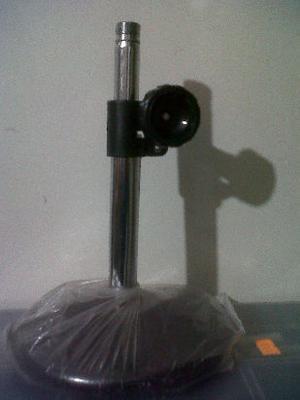 soporte pie de microfono de mesa o piso