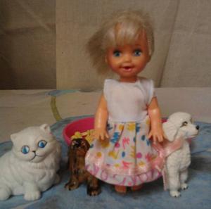 Barbie - Kelly Y Sus Mascotas