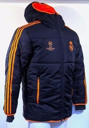Campera y buzo del Real Madrid + pantalón negro ADIDAS