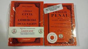 Código Penal + Código Civil Y Comercial De La Nación