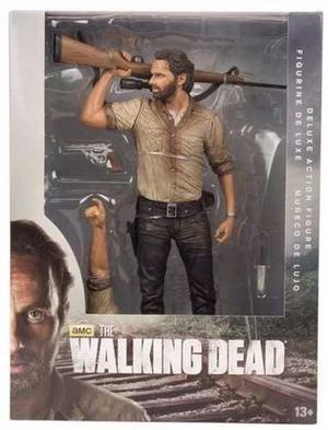 Mcfarlane The Walking Dead Rick Grimes Versión Deluxe 25 Cm