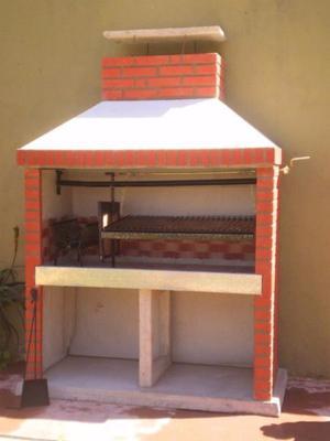 Parrillas Pre moldeadas zona Sur + Hornos y Cocinas