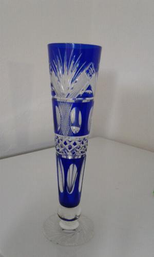Antiguo Florero Cristal