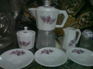 Cafetera Italiana Porcelana