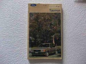 Manual Fabrica Ford Taunus 82 Original Usuario