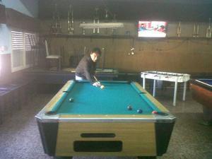 Mesa De Pool Comercial Bisonte
