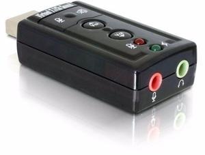 Placa De Sonido Usb 7.1 C/ Control Volumen Y Leds - La Plata