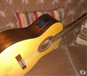 guitarra Luthiers con amplificador