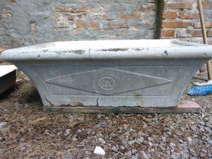 Pileta lavadero de cemento con ceramica por dentro posot for Piletas de concreto