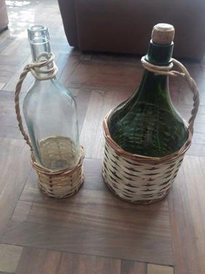 Botellas, sifones y damajuanas de 10 lts
