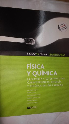 Fisica Y Quimica 3 Santillana Saberes Claves Usado