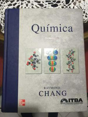 Libro Quimica, De Raymond Chang, Editorial Mcgraw Hill