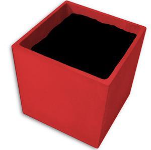 Macetas De Fibrocemento Cubo 30x30x30 Pintada Color