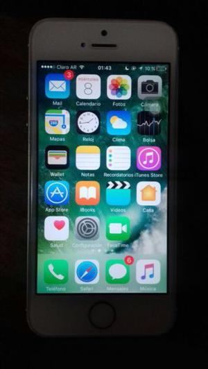 Vendo IPhone 5s gold de 16 gb