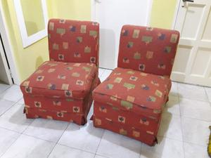 Vendo juego de sillones de chenille