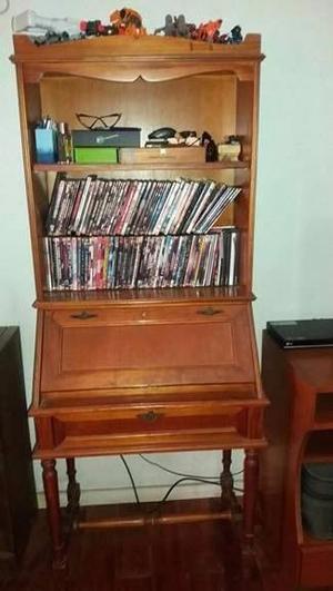 escritorio biblioteca cedro laqueado