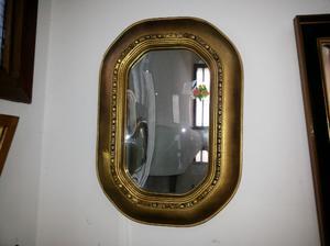 espejo antiguo art deco