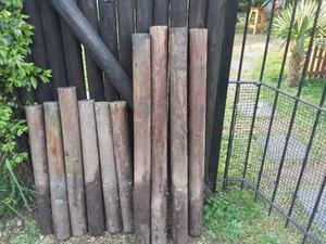 postes redondos de pino impregnado OFERTON!!
