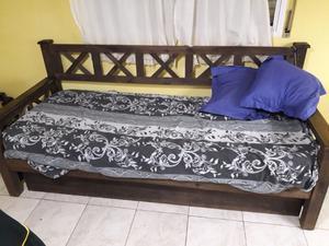 vendo sillon rustico cama