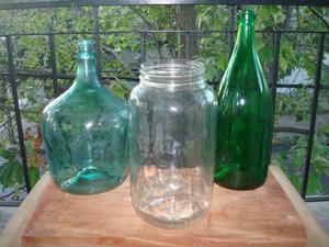 Botellas y frascos para adornos