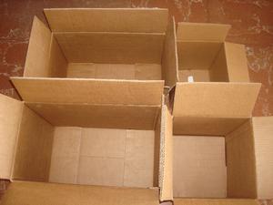 Cajas de carton duro medidas diferentes por 24 unidades