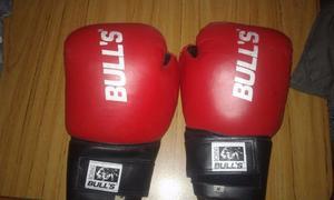 GUANTE DE BOX Y CABEZAL MMA