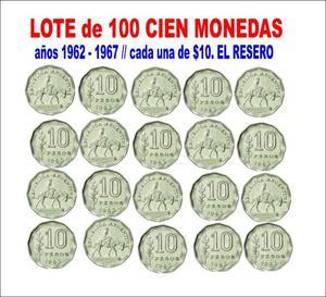 100 Monedas Antiguas Años