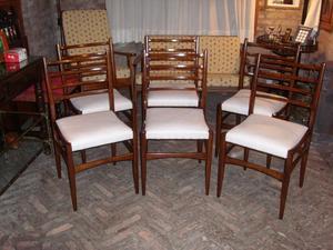 Juego de 6 sillas americanas escandinavas