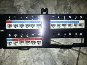 Pachera De 48 Bocas. Usada Siemons Series Max Cat6