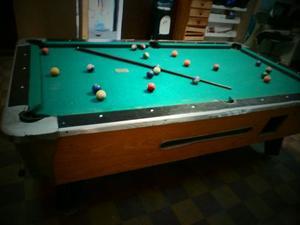 Pool Profesional Comercial Completo Con Mesa De Marmol.