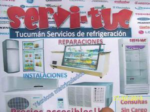 Servicio tecnico de heladeras y aires acondicionados.