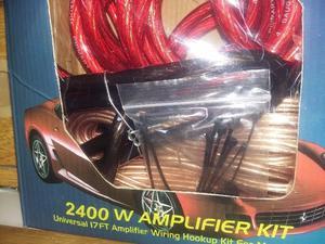 Vendo kit de cables para potencia